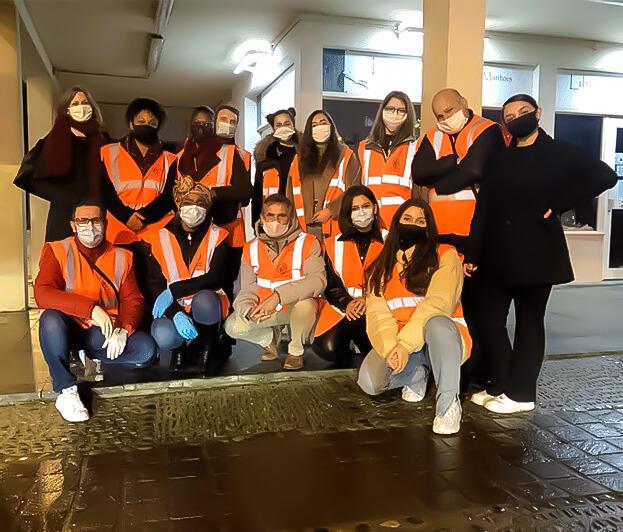 équipe de bénévole